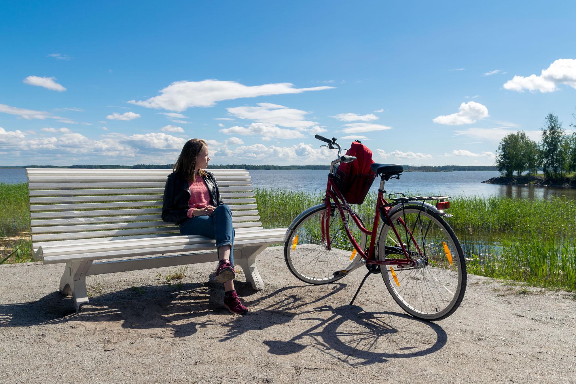 Vaasan nähtävyyksiä voi kiertää polkupyörällä