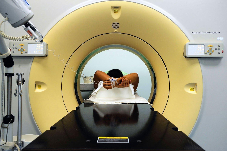 КТ головного мозга с контрастированием