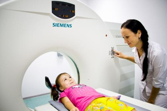 МРТ позвоночника детям