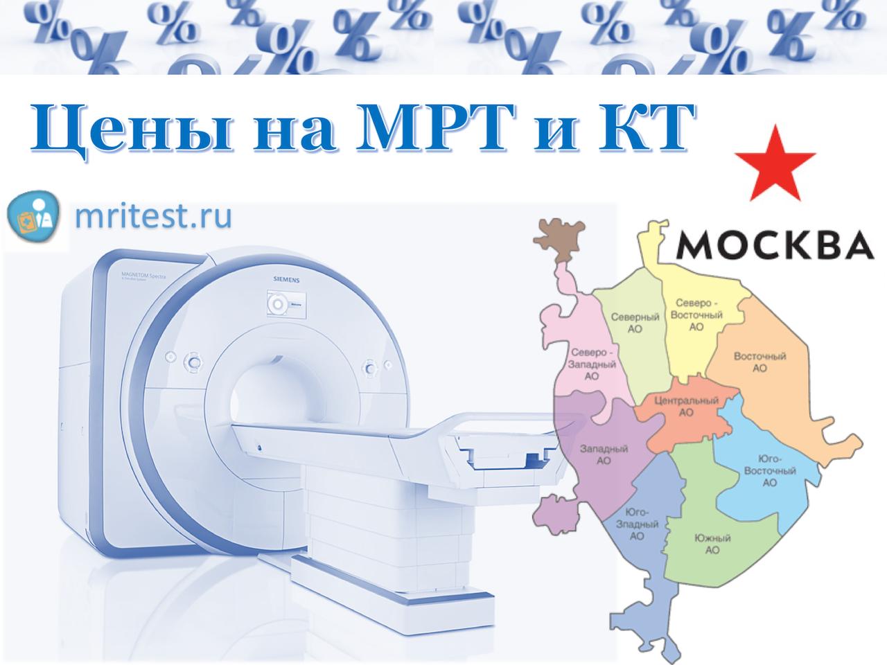 МРТ и КТ в Москве