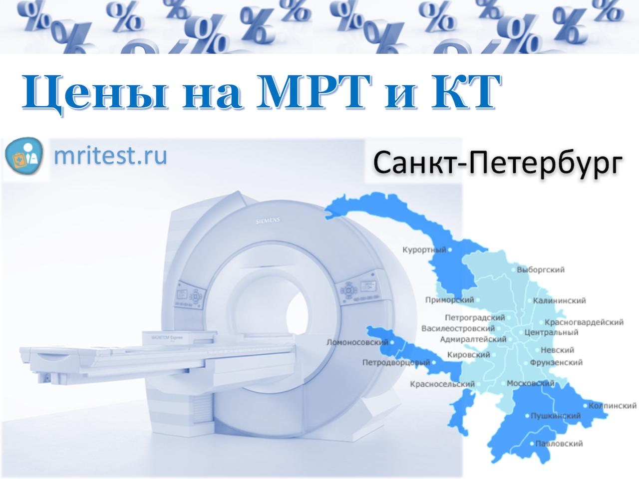 МРТ и КТ в СПб