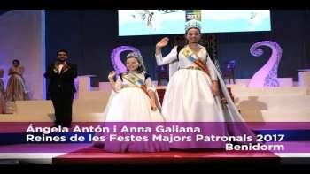 Coronació de les Reines de les Festes Majors Patronals 2017 de Benidorm