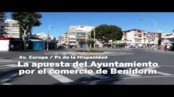 El Ayuntamiento de Benidorm apuesta por el comercio de la Av. Mediterráneo