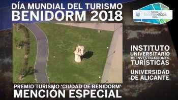Premios de Turismo 'Ciudad de Benidorm' 2018. Mención Especial IUIT UA