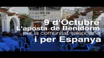 Benidorm celebra el 9 d'octubre