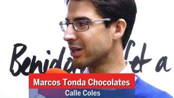 Benidorm fet a Mà. Calle Coles. Chocolates Marcos Tonda