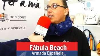 Benidorm fet a Mà. Armada Española. Fábula Beach