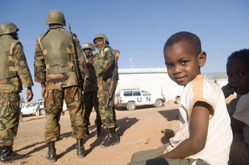 Jonge Darfuri
