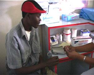 kliniek in Nairobi