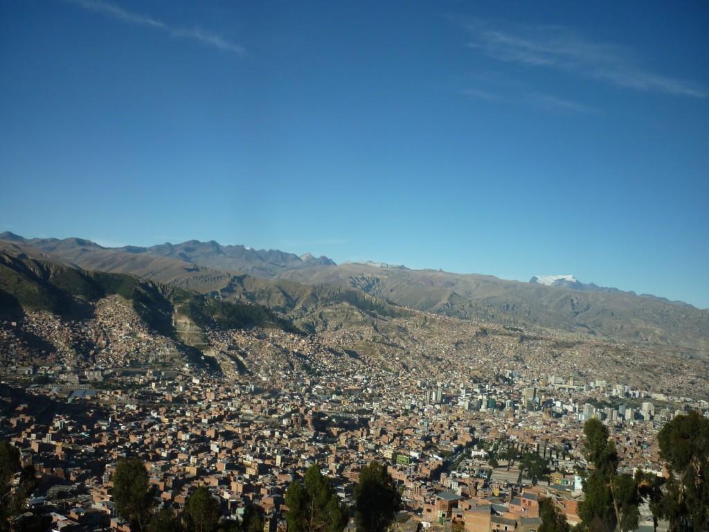La Paz, stad in bolivia