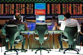 Handelaren op de beurs van Sao Paulo, (cc) Rafael Matsunaga.