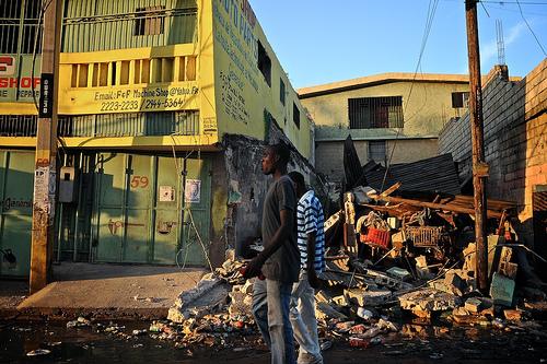Haiti na aardbeving