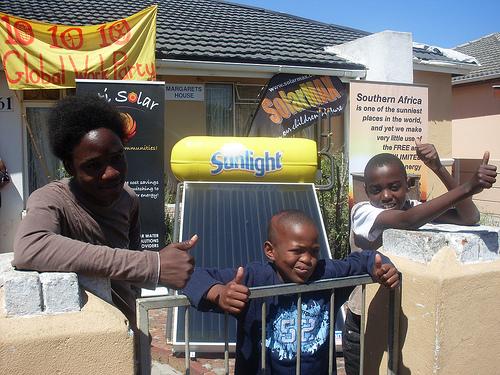 Zonne-energie in Zuid-Afrika
