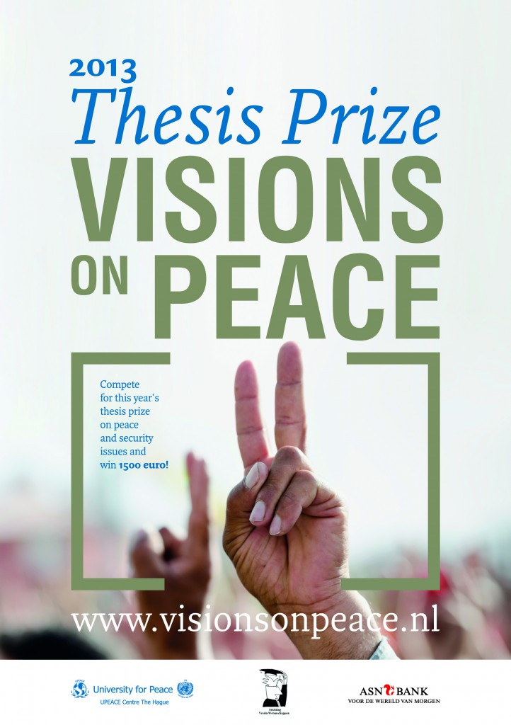 Thesis Prize Visions on Peace