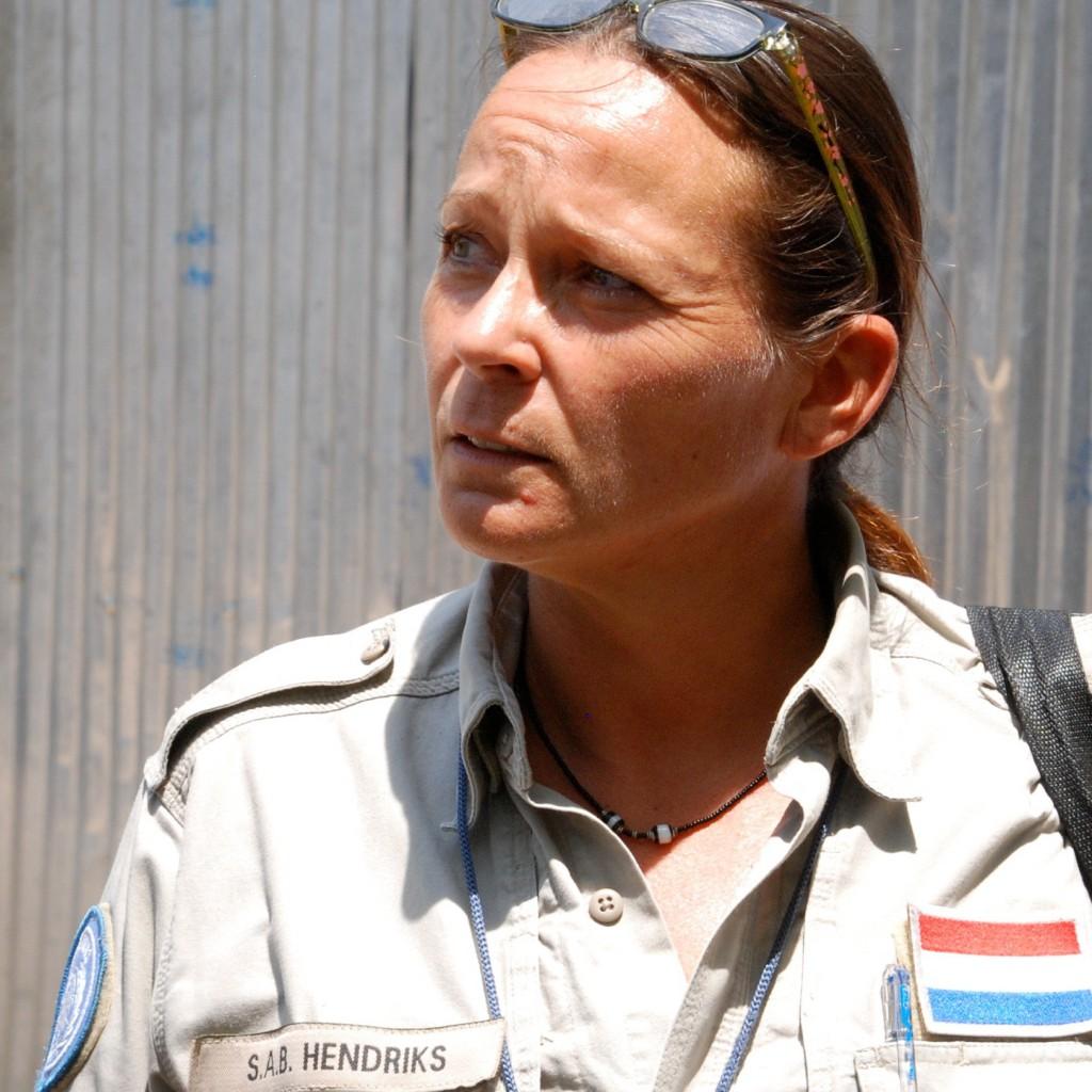 Susan Hendriks als politietrainer in Zuid-Sudan