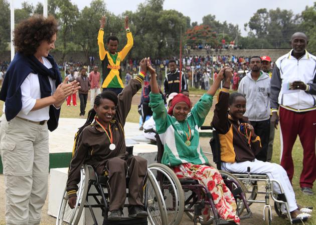 DARE2GO Ethiopië groepsreis fysieke beperking