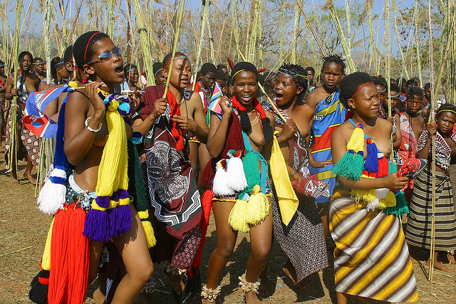 Reed dance Swaziland