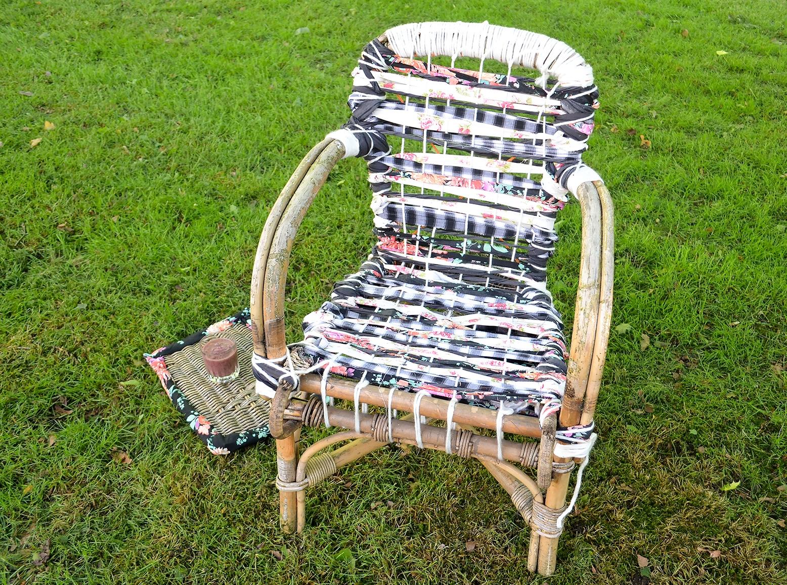 Rieten stoelen voor buiten elegant rotan stoelen voor for Kussens voor op stoelen