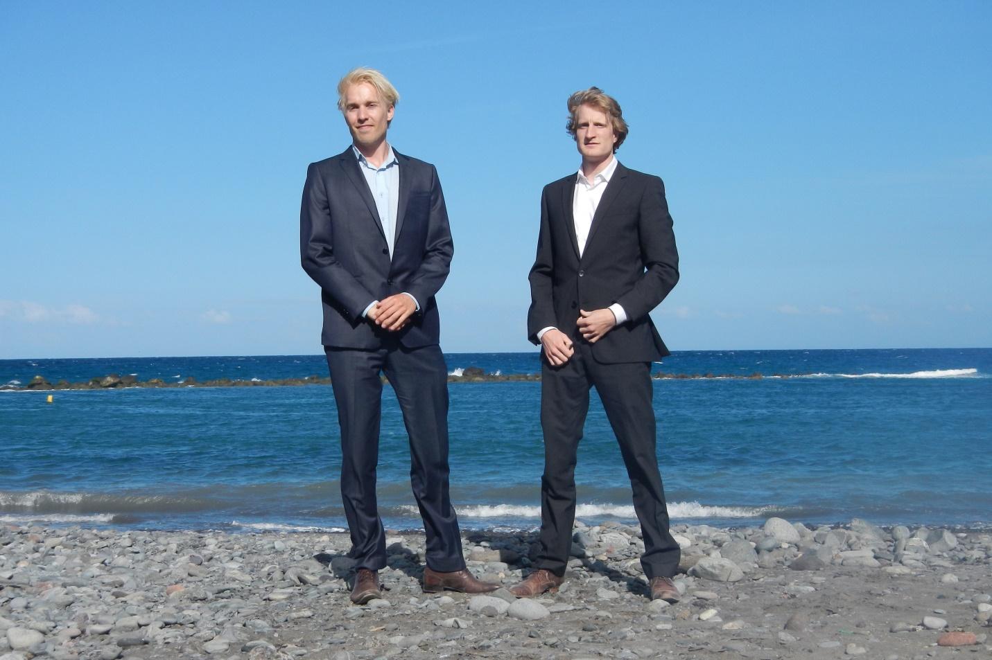 Sid Vollebregt & Reinoud Feenstra: oprichters van Elemental Water Makers