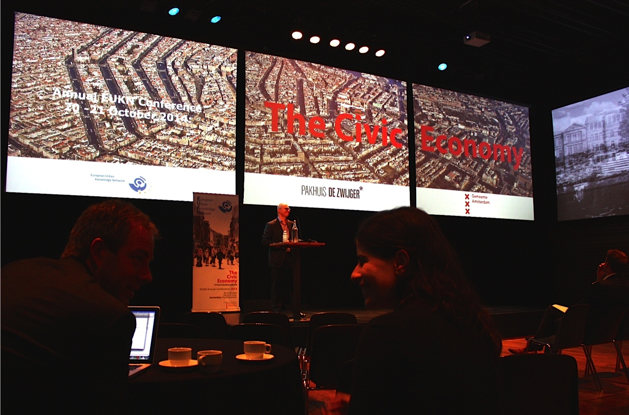 Civic economy, congres over deeleconomie in Amsterdam