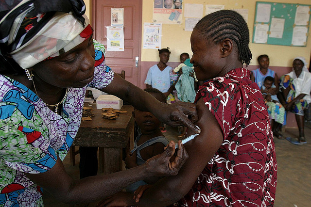Vaccinatie in Afrika