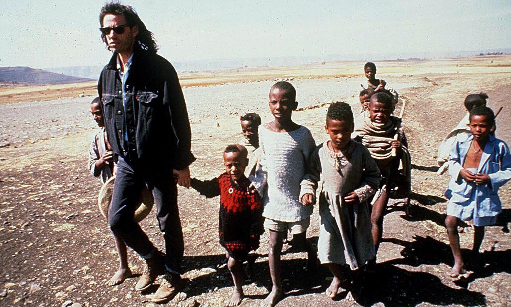 Bob Geldof kinderen Afrika