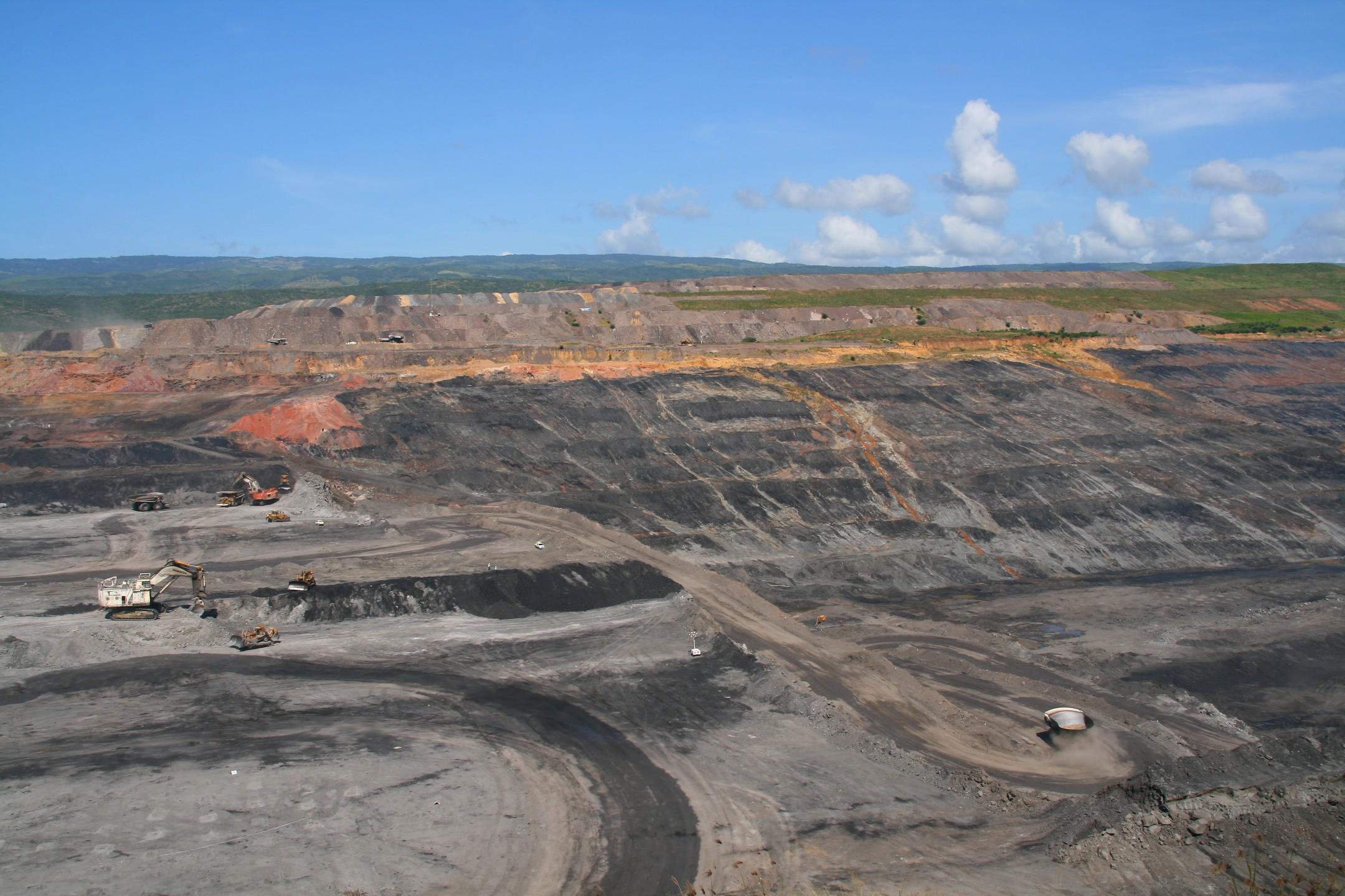 Steenkoolmijn in Colombia