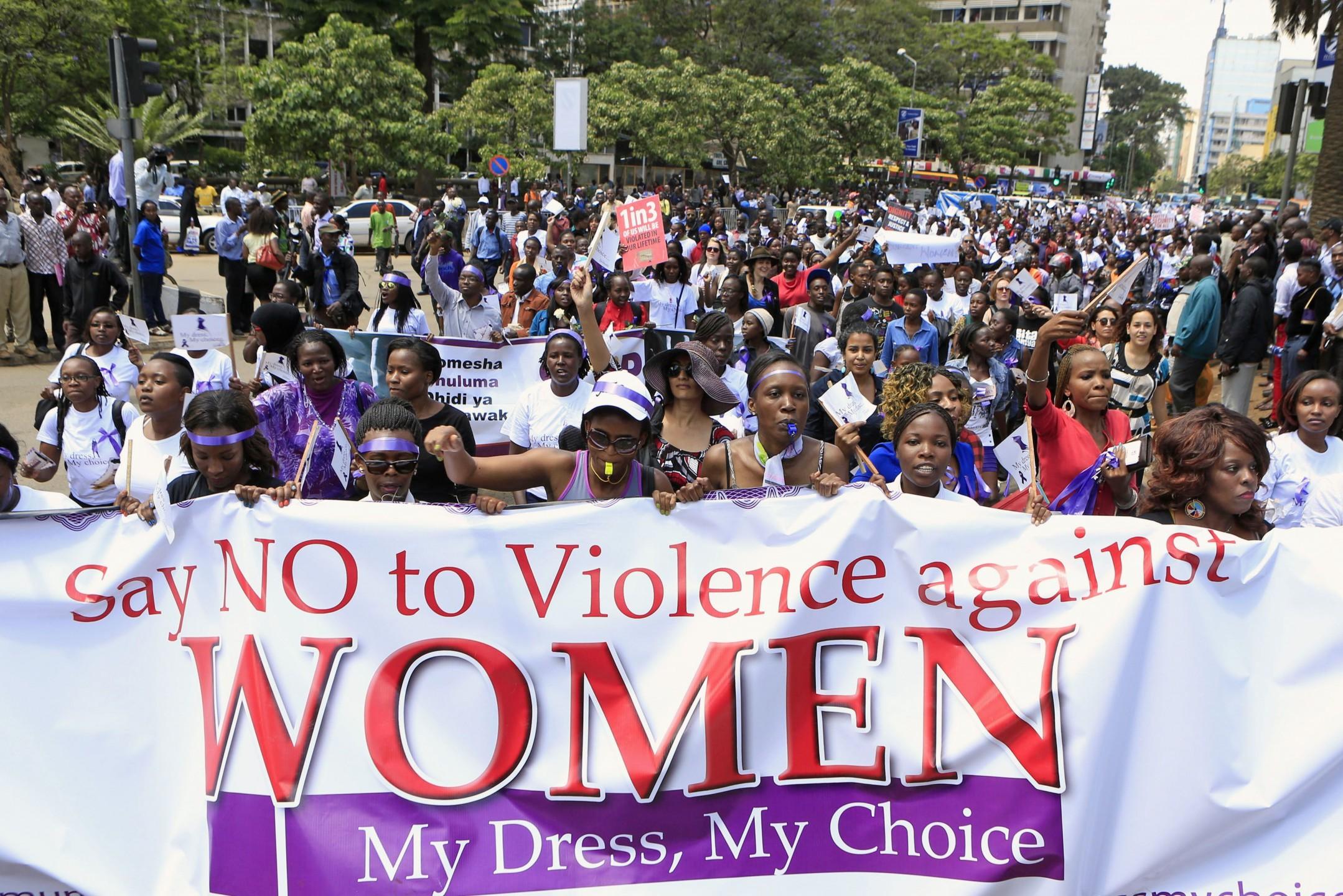 Violence women #mydressmychoice