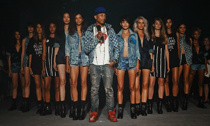 Pharrell Williams, NY Fashion Week, G-Star Raw