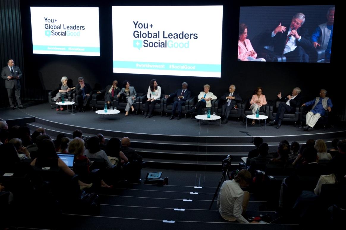 Anne Walraven in gesprek met wereldleiders bij de Verenigde Naties