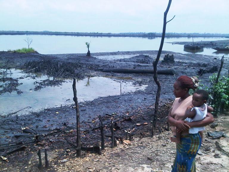 Boeren en vissers in Bodo zijn gecompenseerd door Shell