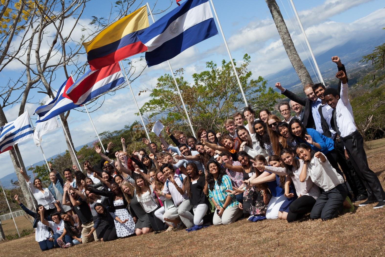 Groepsfoto van HOPE XXL in Costa Rica