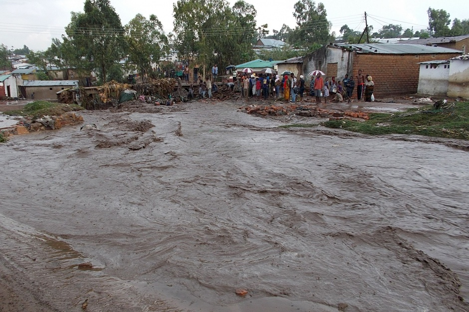 Overstroming in Zuid-Malawi