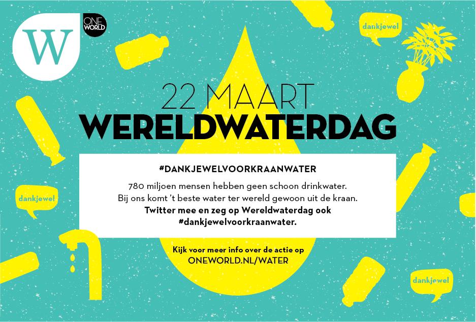 #Dankjewel voor Kraanwater