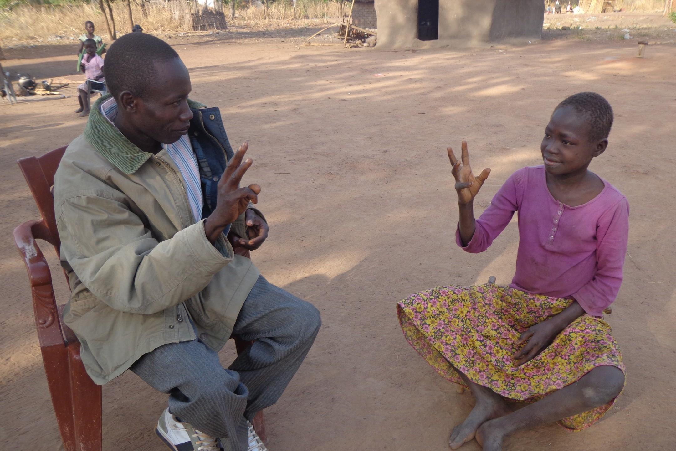Gebarentaal in Zuid-Sudan