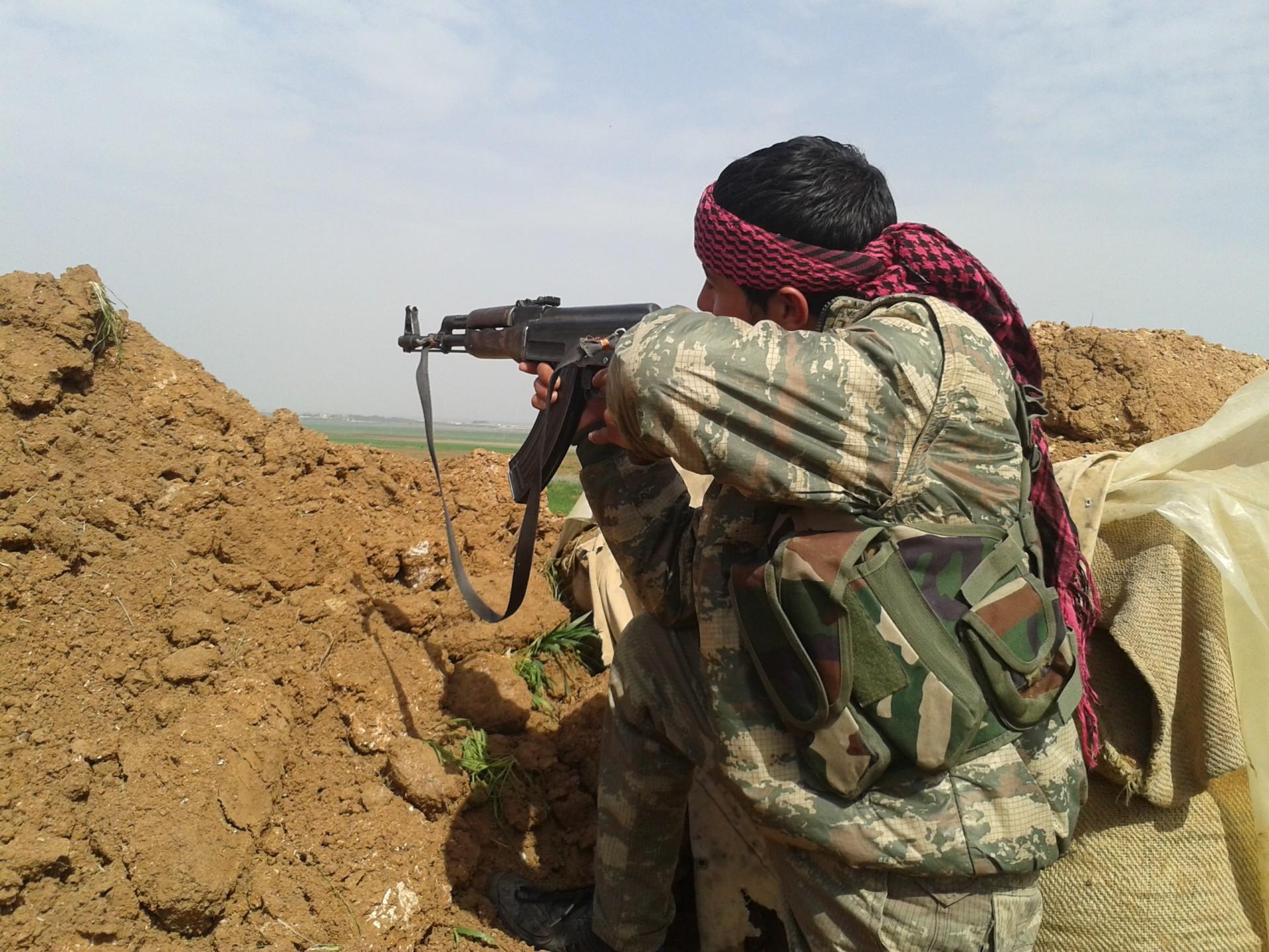 koerdische strijders IS Islamitische Staat