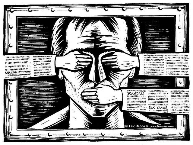 Weinig persvrijheid in deze tien landen