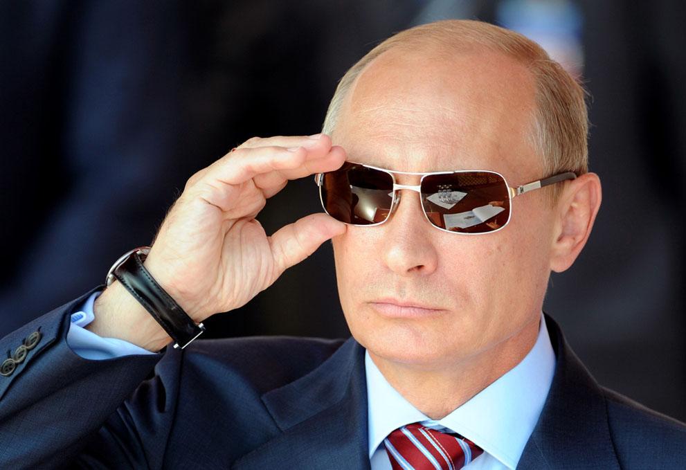 De fratsen van Poetin