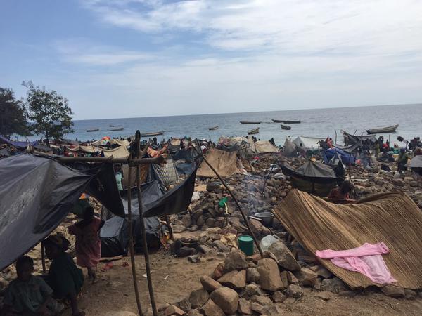 Honderdduizenden Burundezen zijn op de vlucht geslagen