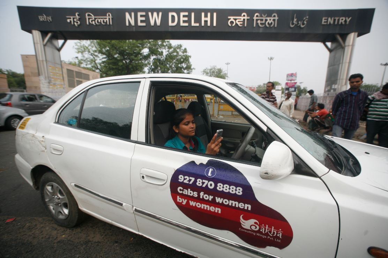 vrouwvriendelijk taxi India seksueel geweld