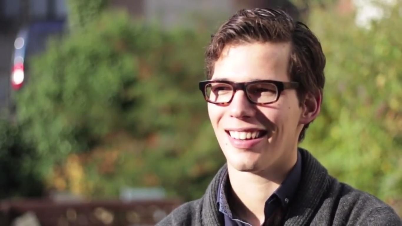 Vlaming Bart Devos (22) was drie jaar lang president van het Wereld Jongeren Parlement voor Water (WYPW).