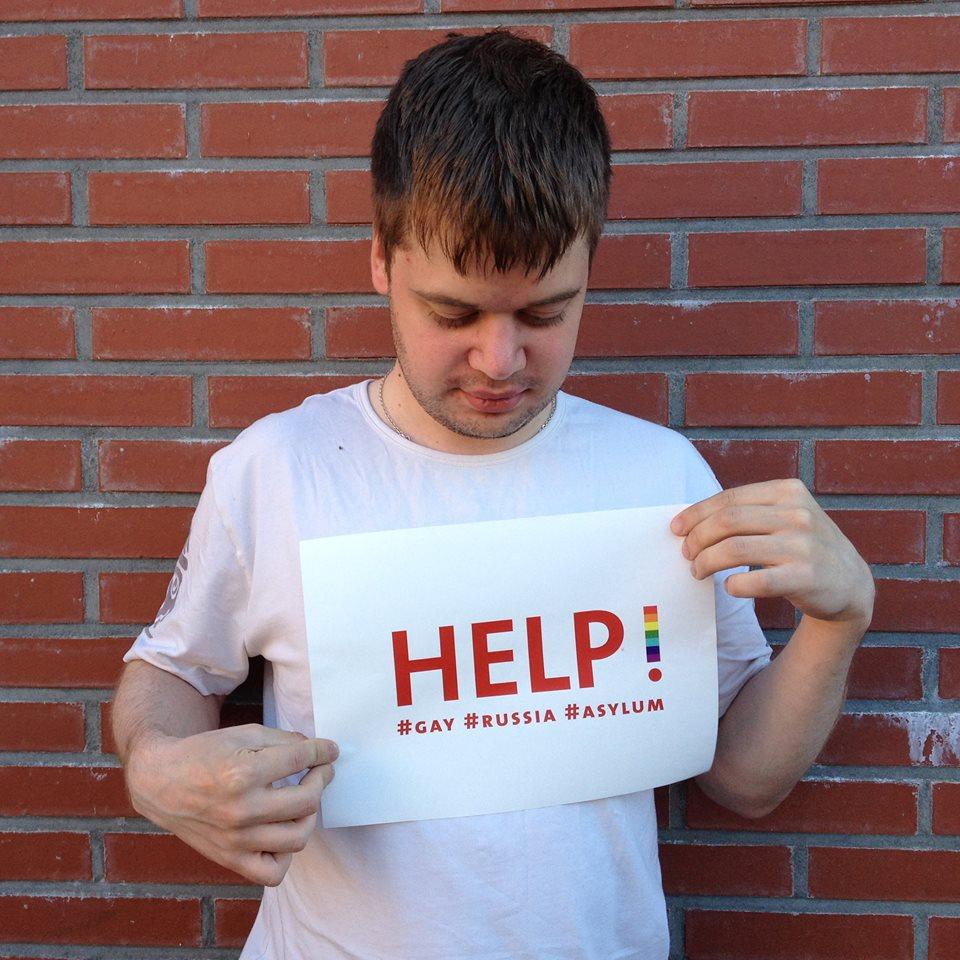 Evgenii loopt als homo in Rusland gevaar en hoopt asiel te krijgen in Nederland. Foto: Sandro Kortekaas