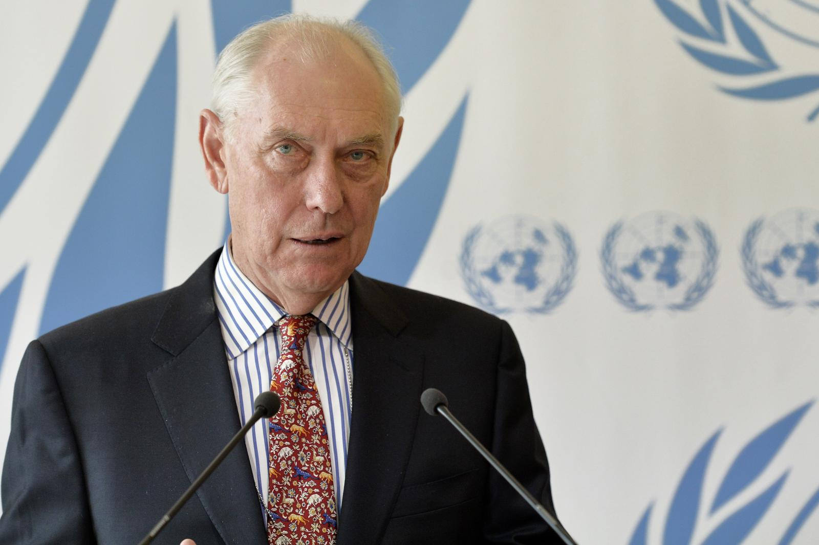 Mike Smith, Chairperson, Commission of Inquiry on Eritrea