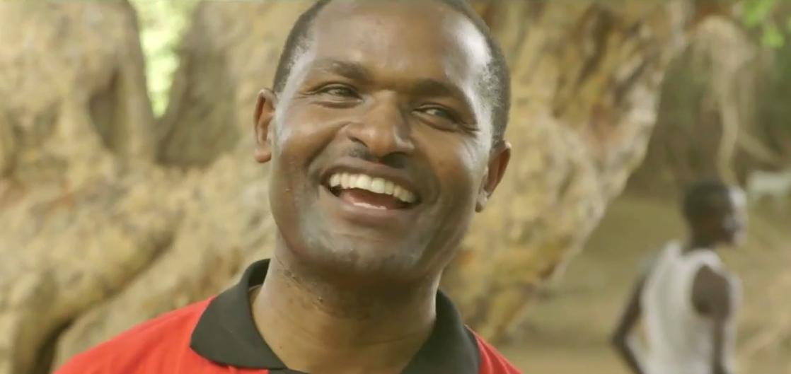 Peter Nguura in zijn campagnefilm