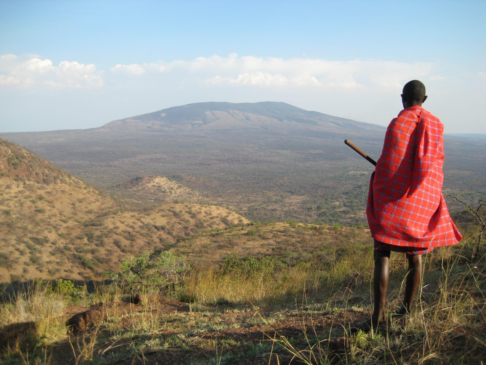 Loita Maasai in Kenia