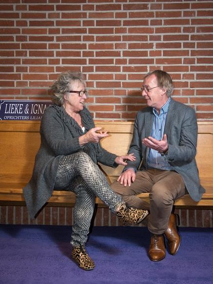 Miriam Berger (BF) Kees van den Broek (LF) - foto Marieke Viergever