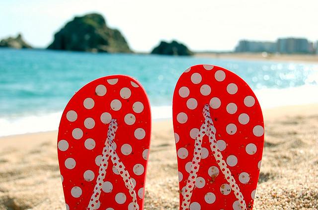 verantwoord op vakantie