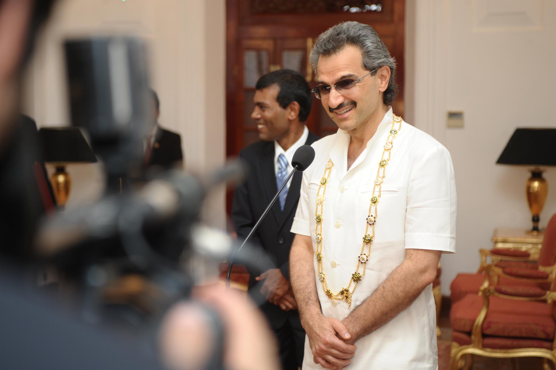 Prins Al-Waleed bin Talal. Foto: Mauroof Khaleel (Flickr)