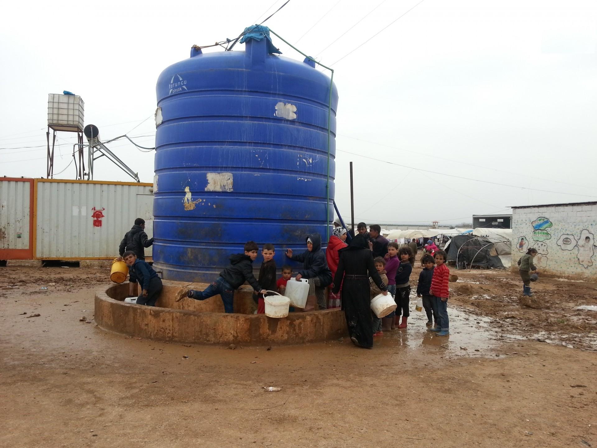 water in Syrische burgeroorlog