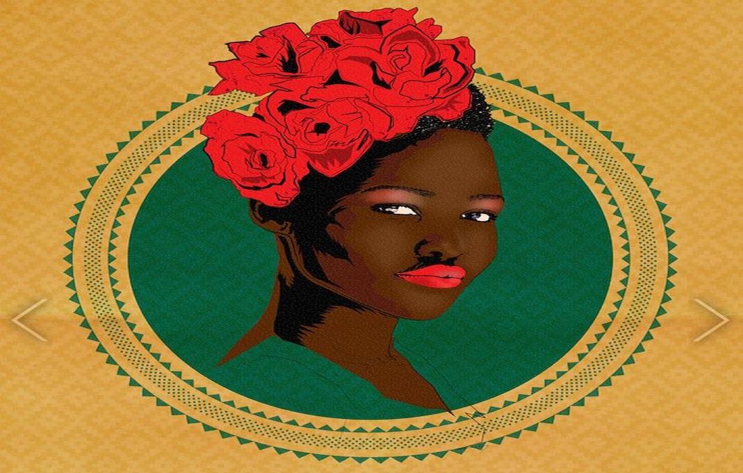 Afrikaanse vrouwen hoop inspiratie beeldvorming